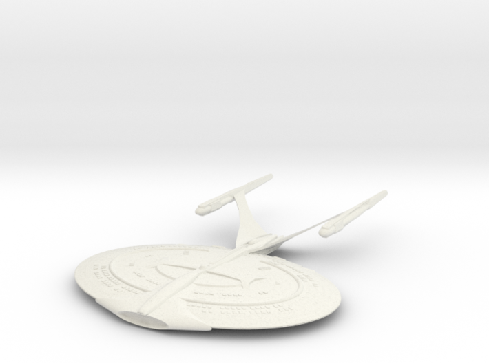 Enterprise J  Refit 3d printed