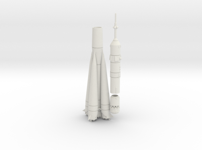 1/250 RUSSIAN SOVIET SOYUZ TM ROCKET 3d printed