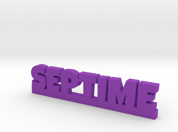 SEPTIME Lucky 3d printed