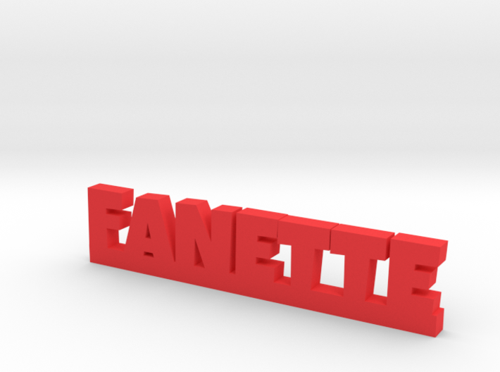FANETTE Lucky 3d printed