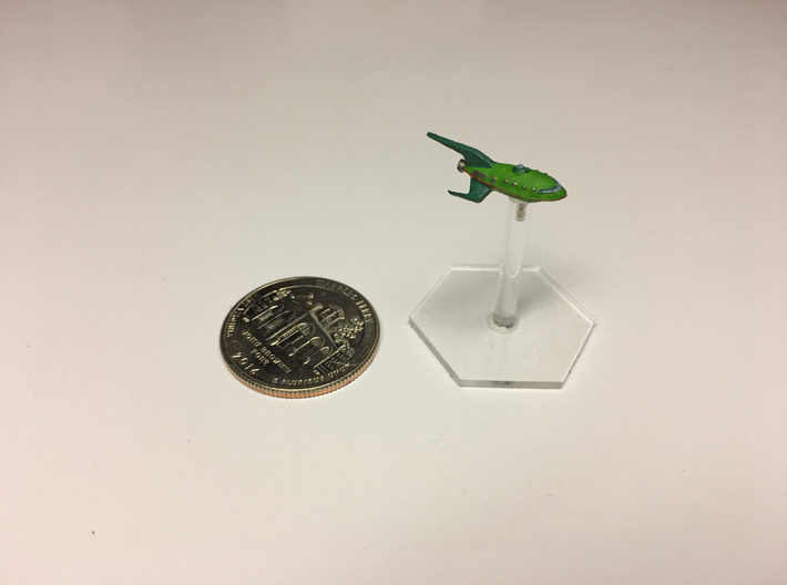 "1/2500 Futurama Planet Express ""PRINT IT ANYWAY"" 3d printed"