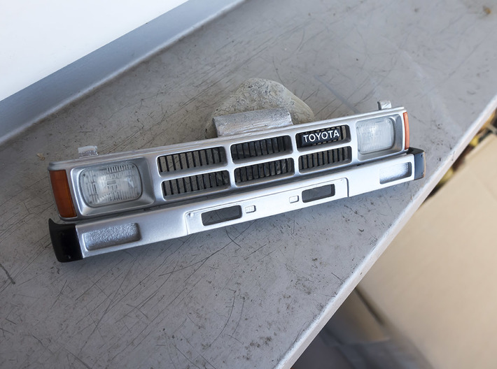 RCN004 Full grill  for Pro-Line Toyota SR5 3d printed