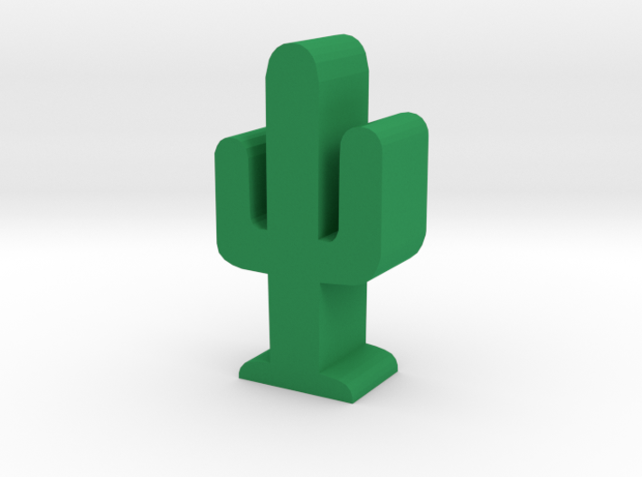 Game Piece, Cactus 3d printed