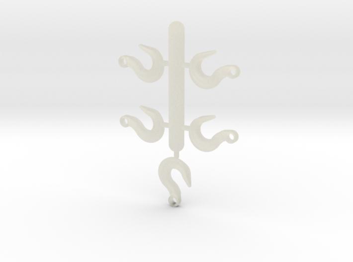 Hook Set 3d printed