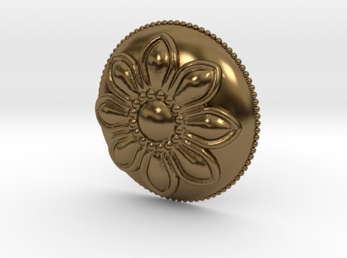 Margarita Flower Pendant 3d printed