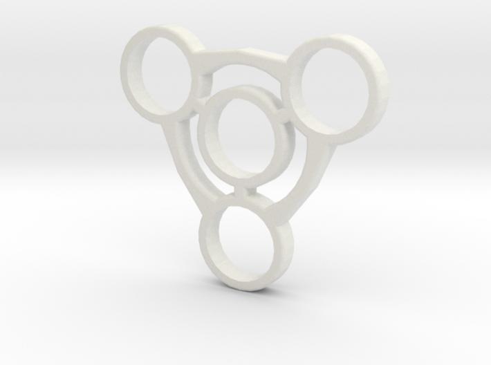 Fidget Spinner No.1 3d printed