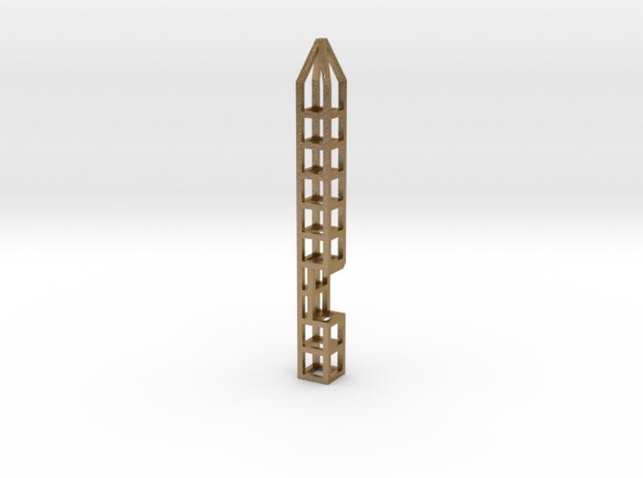 Pen Keychain-Holder + Bottle-Opener 3d printed