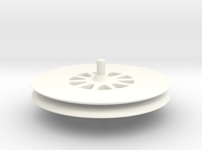 Deep-groove-wheel 3d printed