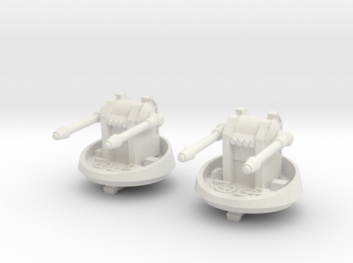 CR-90 Corvette Turret Replacement (Original) 3d printed