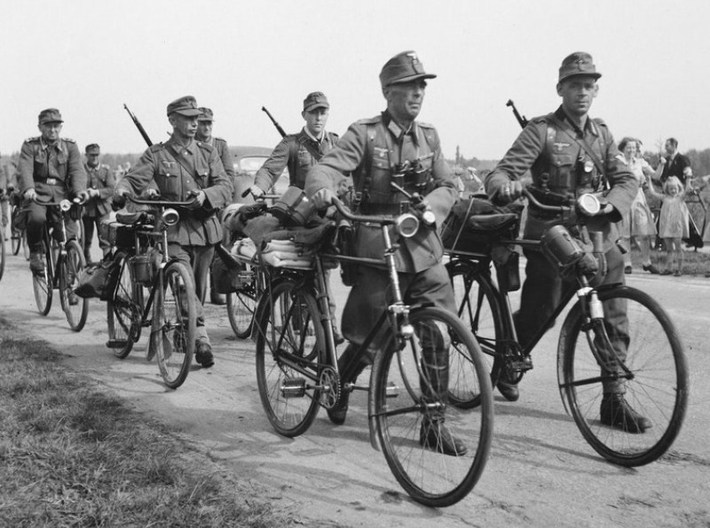 Image result for Wehrmacht on a bike