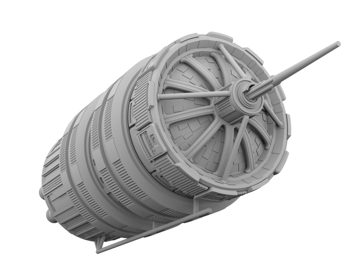 1:17000 Nauvoo [The Expanse] 100mm 3d printed