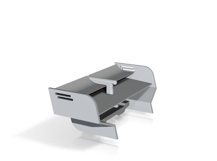 KMD-FR01 V-Shape Rear Wing 3d printed