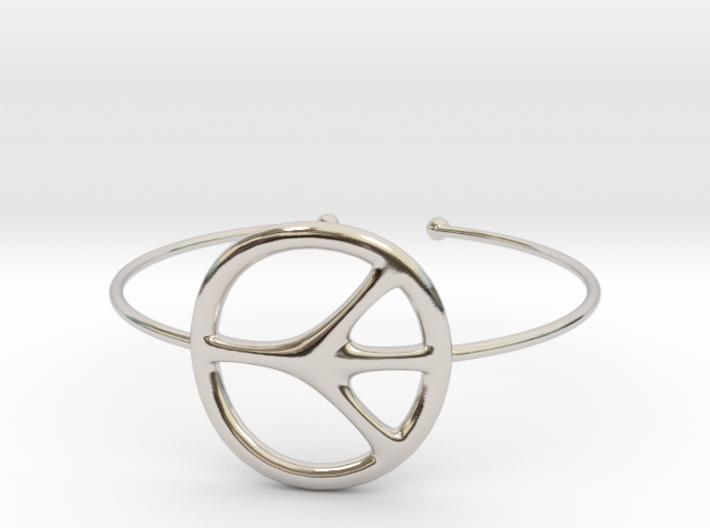 Peace Bracelet 3d printed