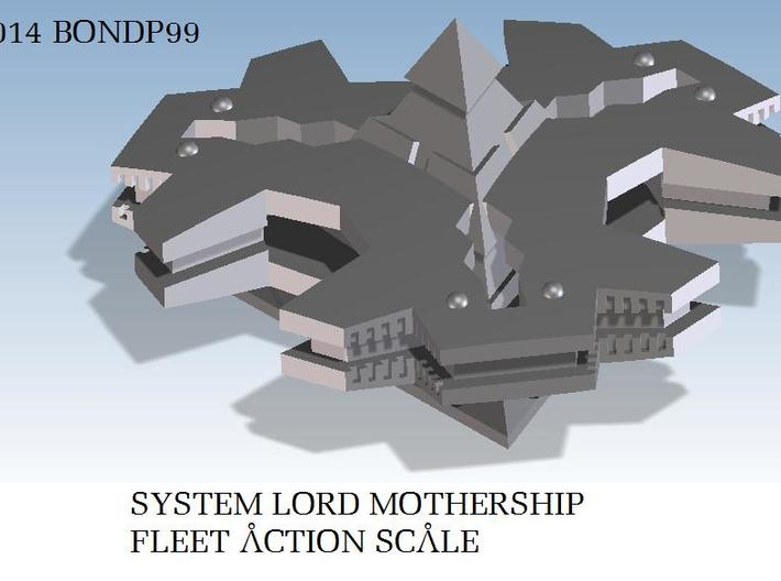 System Lord Mothership 3d printed render view