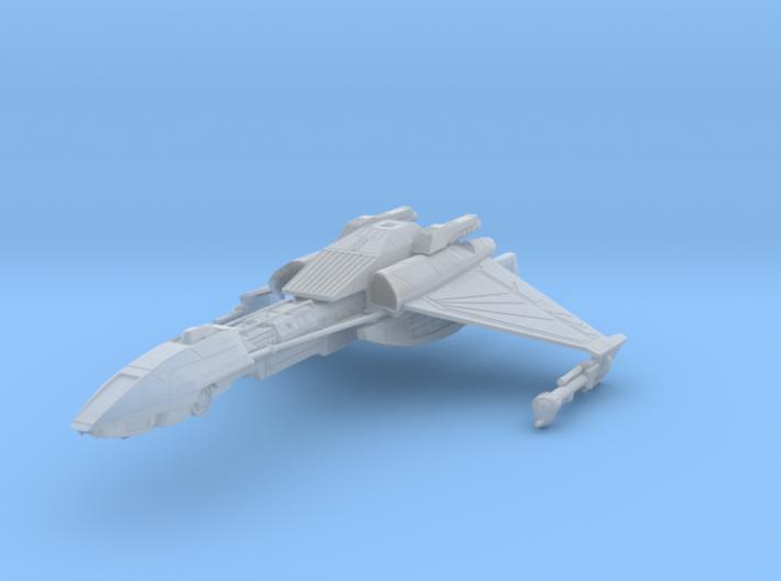 Klingon D5 IV BattleCruiser 3d printed