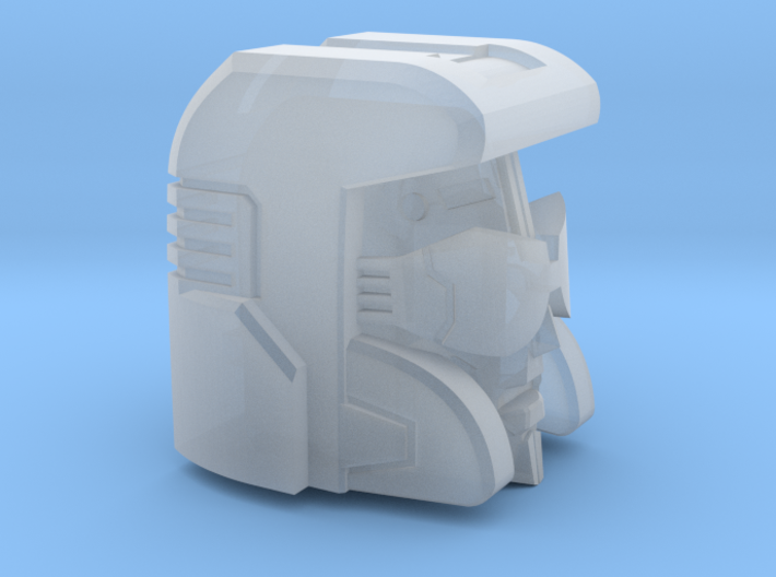 Pacifist Head Combiner Version 3d printed