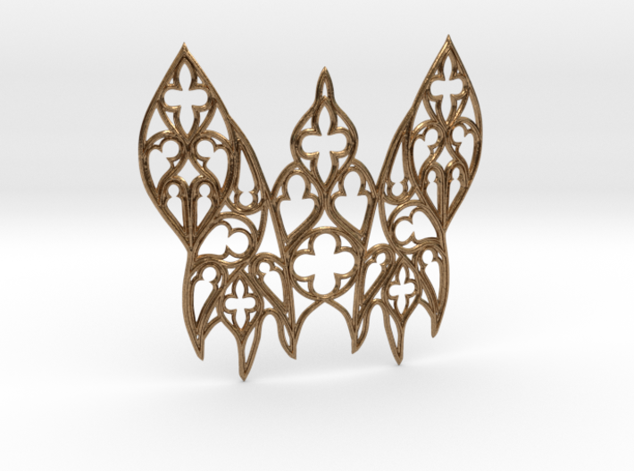 Gothic Moth 3d printed