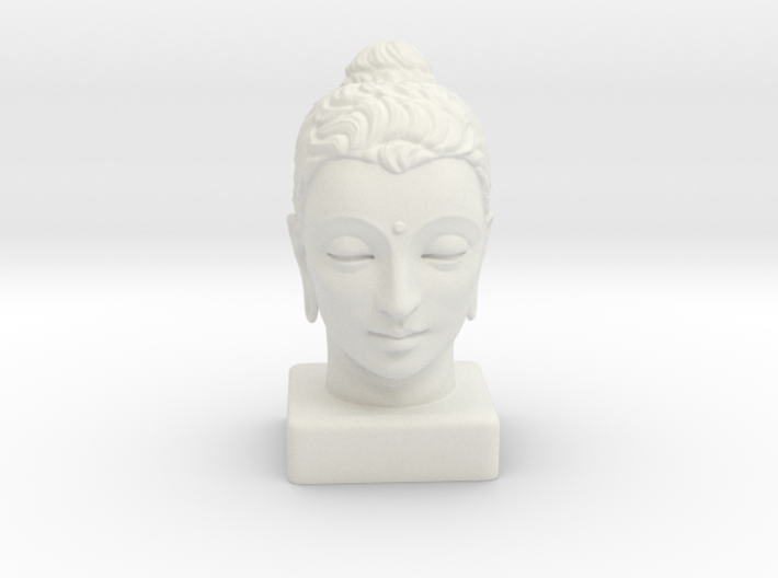 Gandhara Buddha 8 inches 3d printed