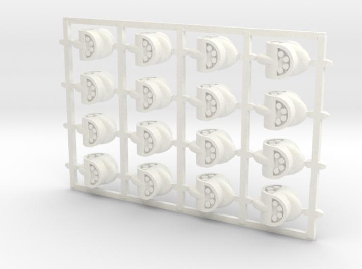 D4 Barrel-Lug (x16) 3d printed