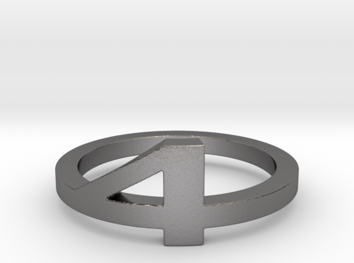 (Fantastic) Four Ring Ring Size 12.25 3d printed