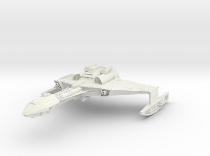 Klingon D6 Class B HvyCruiser 3d printed