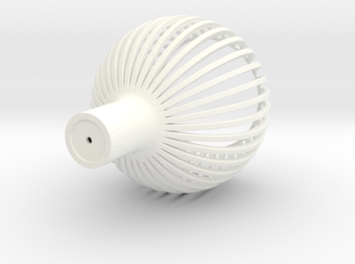 1:12 Lampshade (ceiling) see through 3d printed