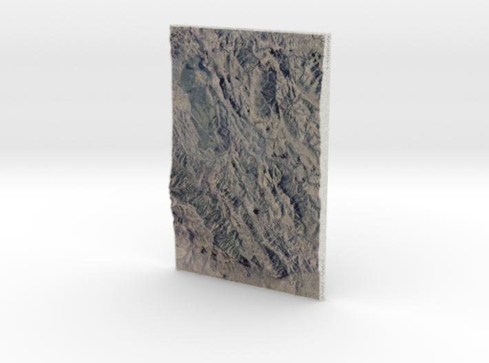 Superstition Mtns, Arizona, USA, 1:100000 Explorer 3d printed