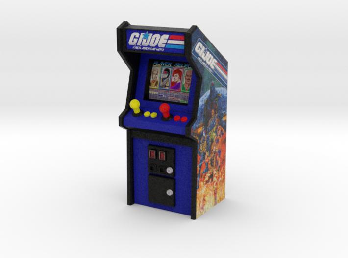 """3 3/4"""" Scale G.I.Joe Arcade Game 3d printed"""