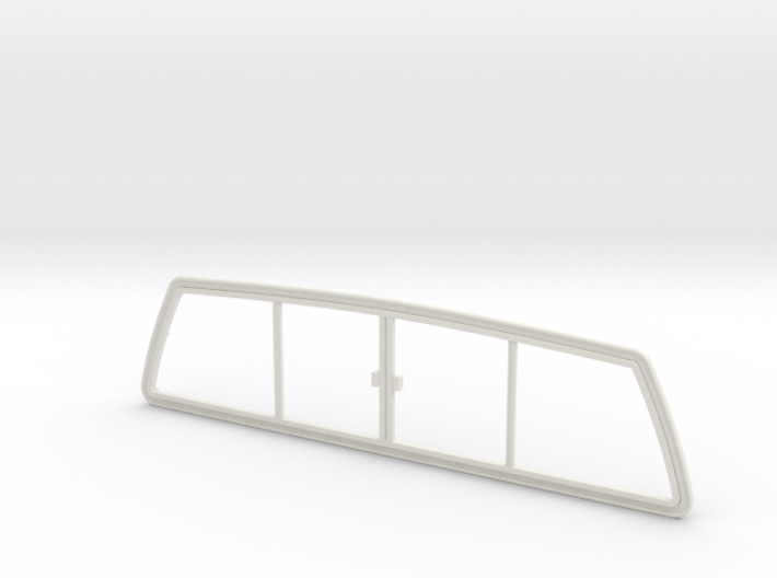 RCN017 rear window frame for Pro-Line Toyota SR5  3d printed