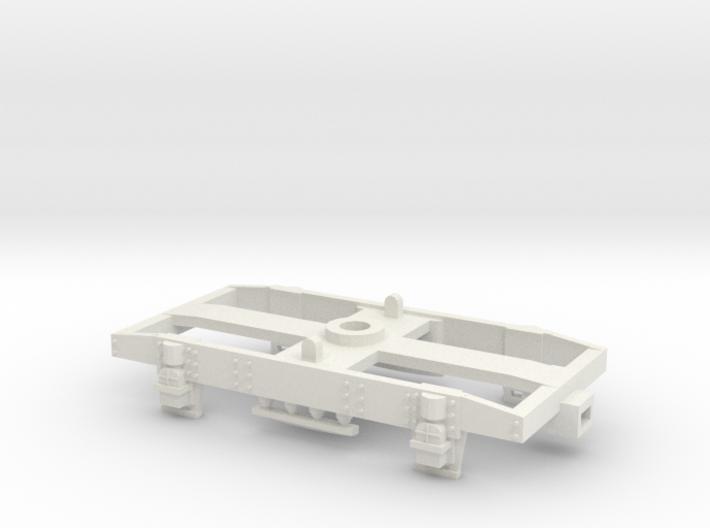 GW 9' Plate Frame Bogie Airfix Fit - Brass Bearing 3d printed