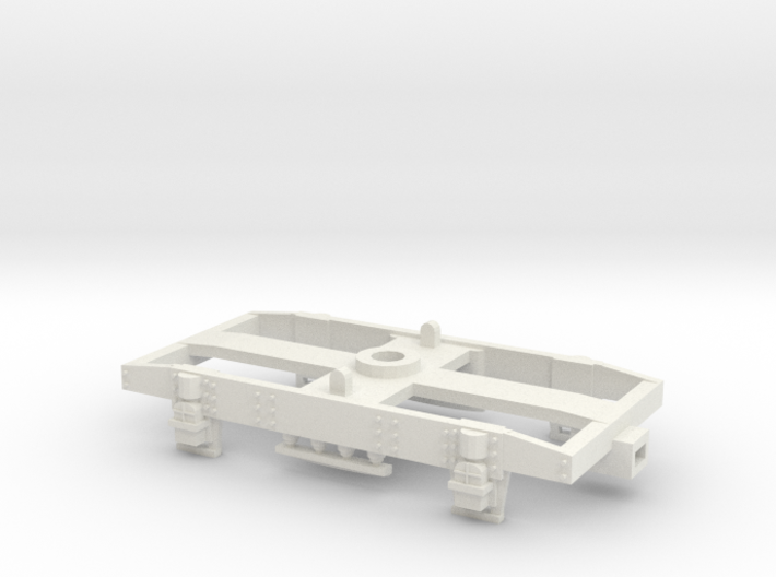 GW 9' Plate Frame Bogie Airfix Fit 3d printed