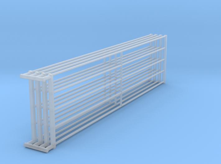 1/64 16ft Freestall barn Gates  3d printed