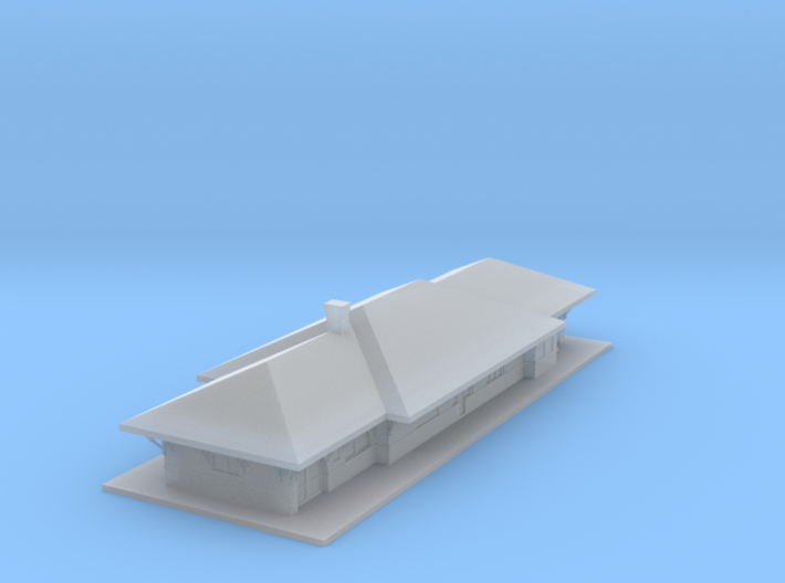 Train Station 3d printed