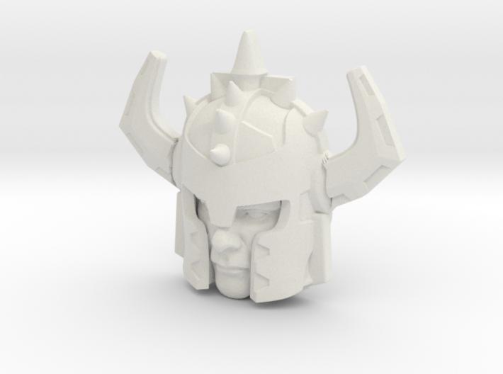 Jetstrike Human Face (Titans Return) 3d printed
