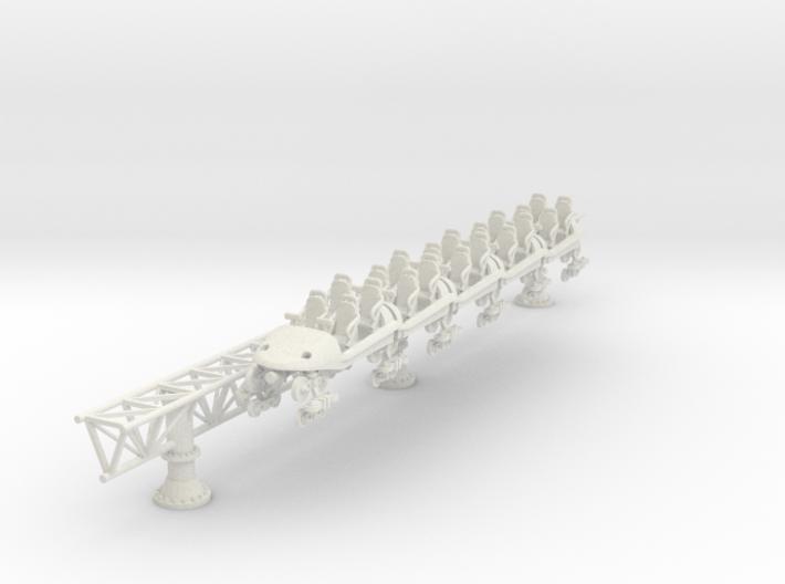 Intamin Giga Coaster Train 3d printed