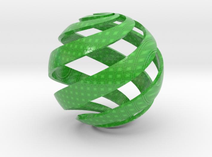 Customizable Loxodrome 3d printed
