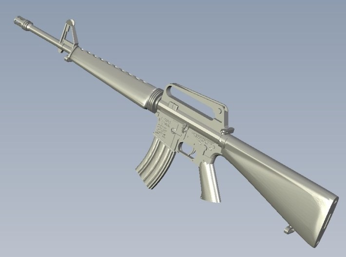 1/48 scale Colt M-16A1 rifles x 10 3d printed