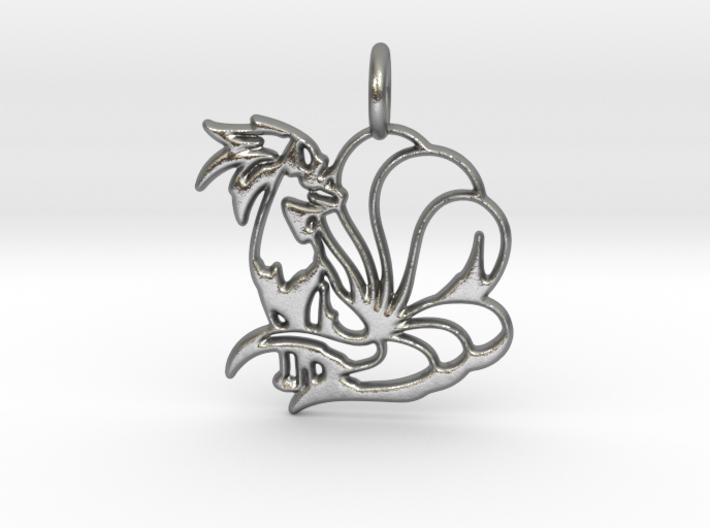 Ninetales Pendant 3d printed