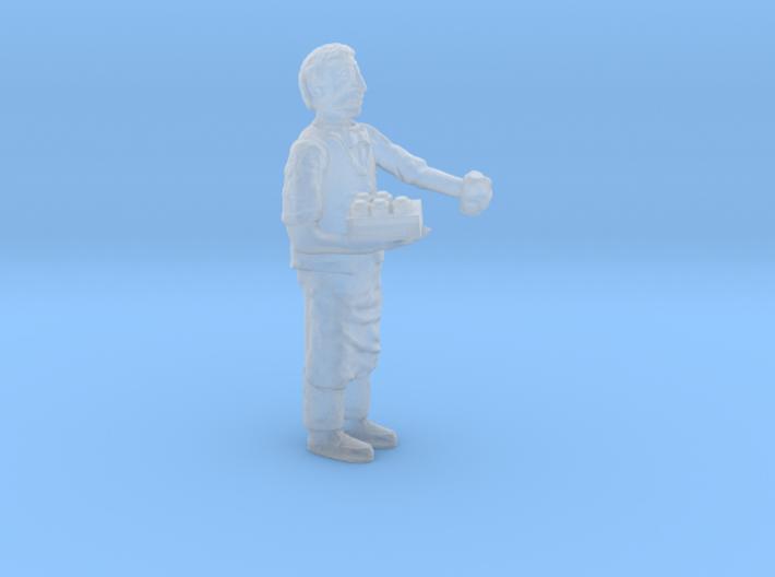 HO Scale SHOPKEEPER stocking shelving Figure 3d printed