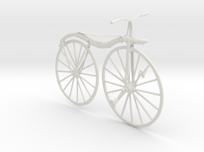 Printle Thing Velocipede - 1/24 3d printed