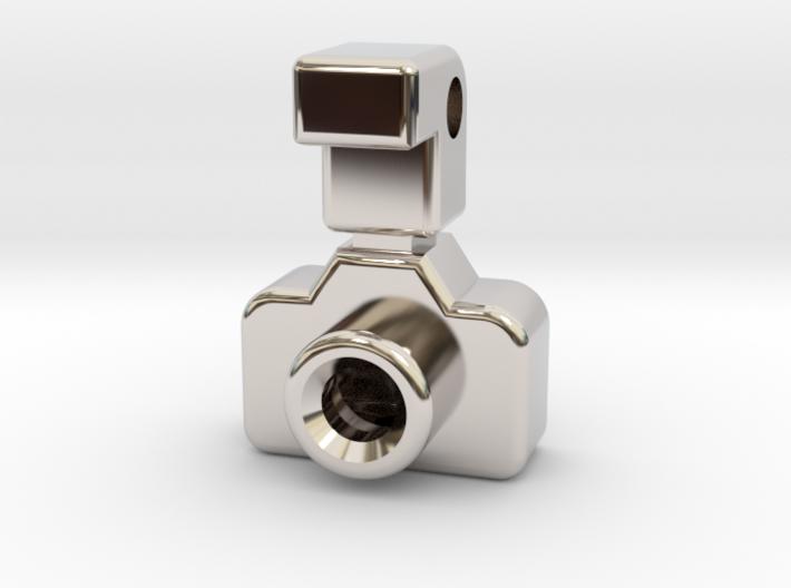 Mini DSLR Camera with Flash - Pendant 3d printed