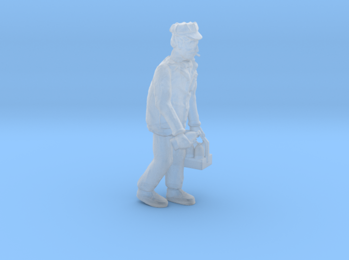 HO Scale MILKMAN out for Delivery Figure 3d printed