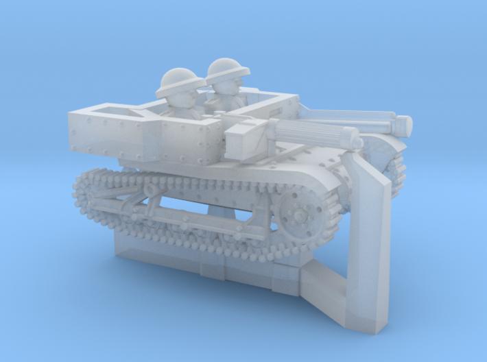 Carden-Loyd Carrier MkVI 6mm 3d printed