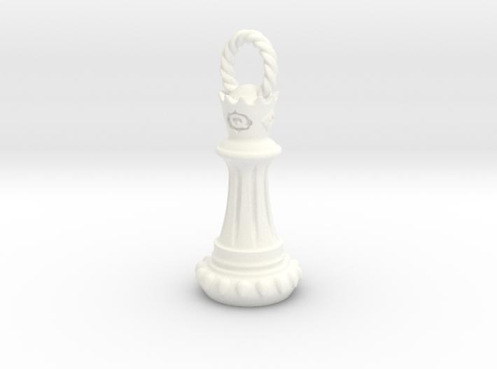 Queen Pendant/Keychain 3d printed