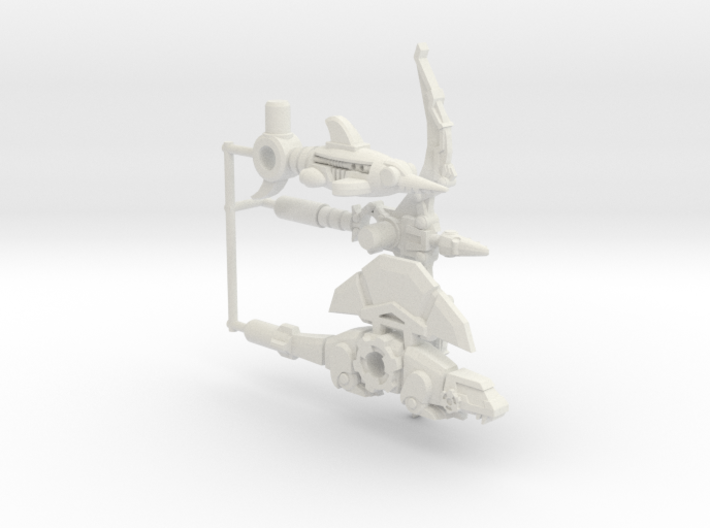 BMOG Non-Dino Squad (set of 3) 3d printed