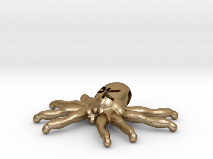 """The Parallelkeller """"Spider-Kraken"""" pendant 3d printed"""