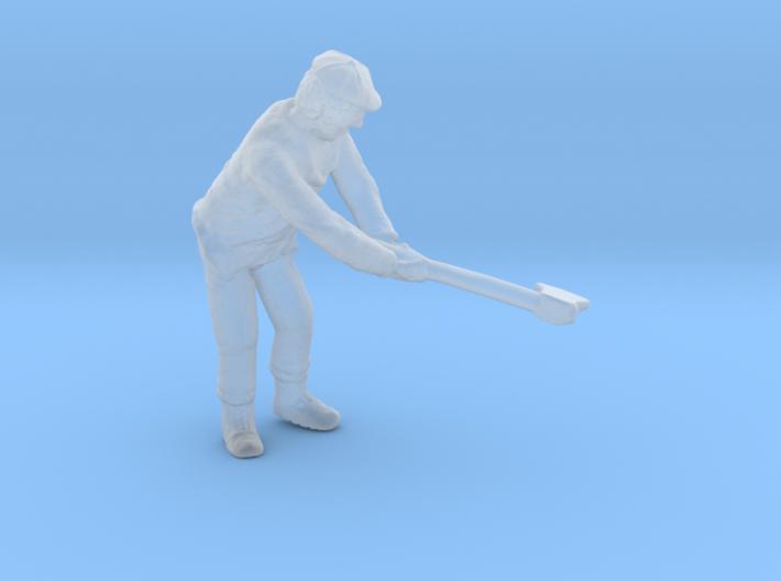 S Logging Feller #2 chopping a tree Figure 3d printed
