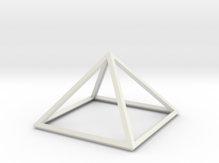"Perfect Pyramid Open Thick 51°51""14"" 3d printed"