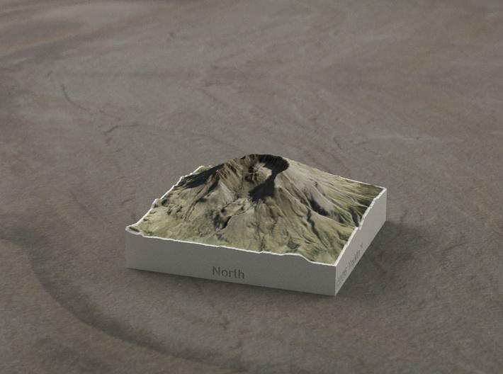 Mt. St. Helens, Wash., USA, 1:100000 Explorer 3d printed