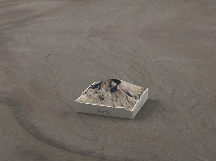 Mt. St. Helens, Wash., USA, 1:150000 Explorer 3d printed